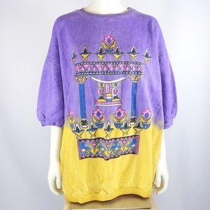 Via Santini short sleeve sweatshirt
